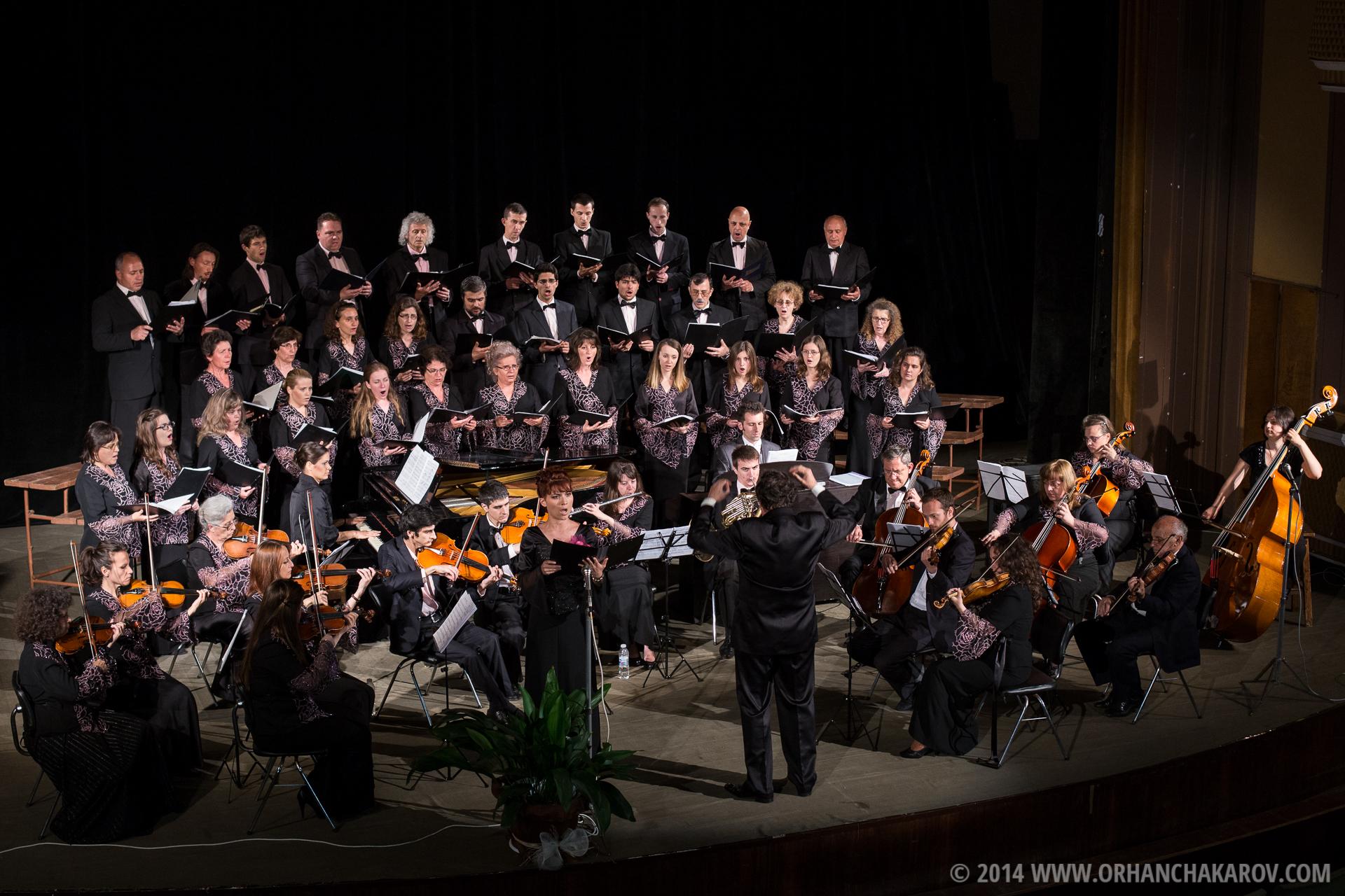 Концерт на ансамбъл Гласът на надеждата