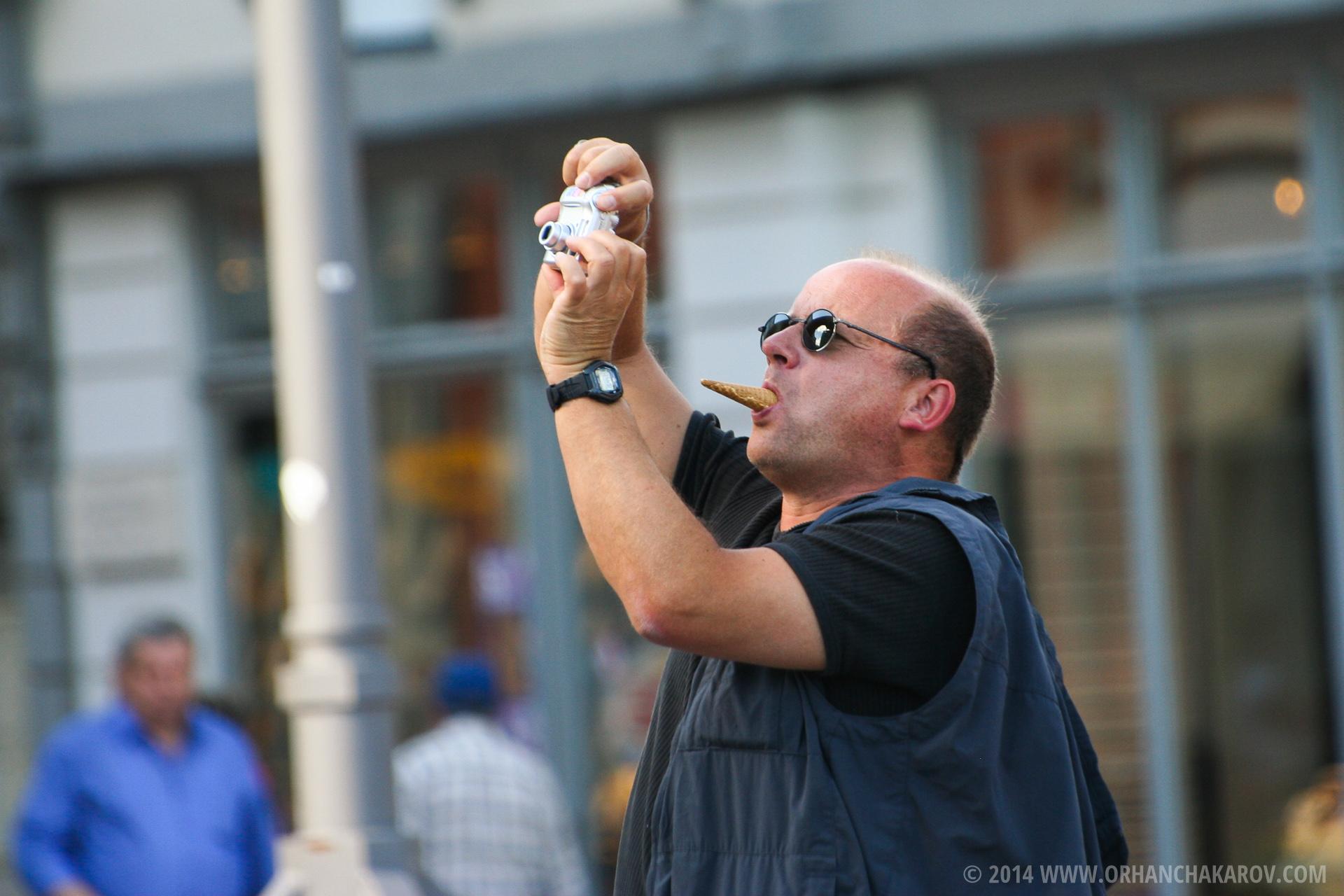 The Ice cream man. Фотограф - Орхан Чакъров, град Варна